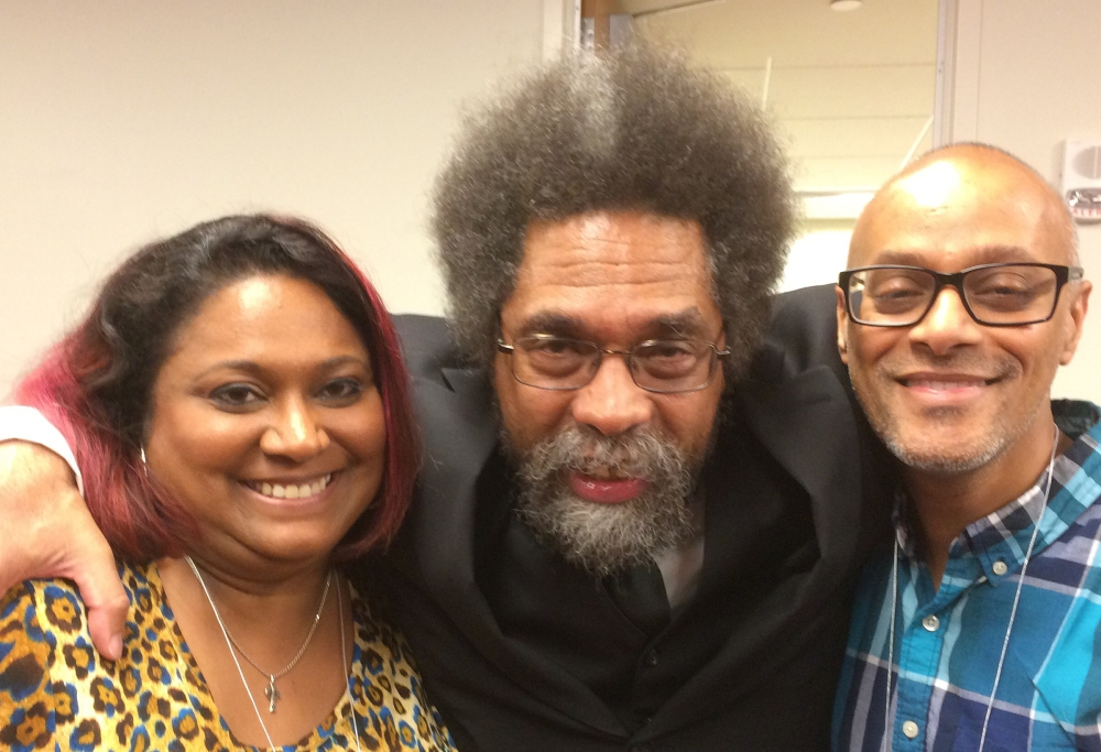 Roxy and Dr. Cornel West